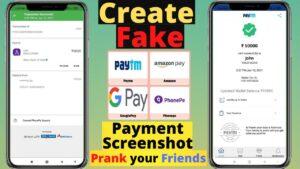fake payment screenshot generator
